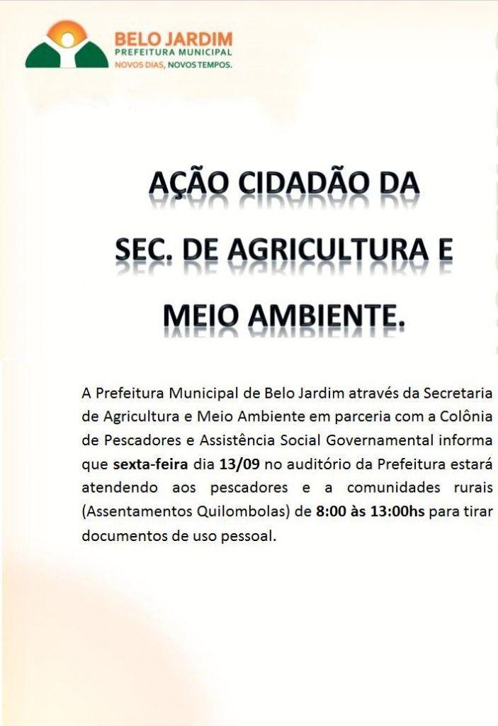 comunicado agricultura